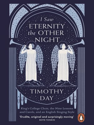 cover image of I Saw Eternity the Other Night