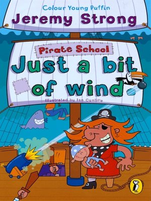cover image of Pirate School:  Just a Bit of Wind