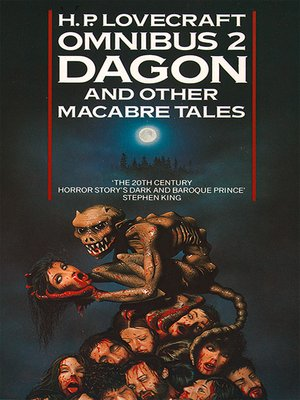 cover image of Dagon and Other Macabre Tales