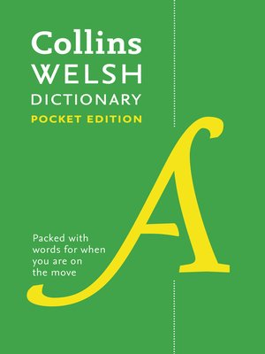 cover image of Spurrell Welsh Dictionary Pocket Edition