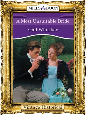 cover image of A Most Unsuitable Bride