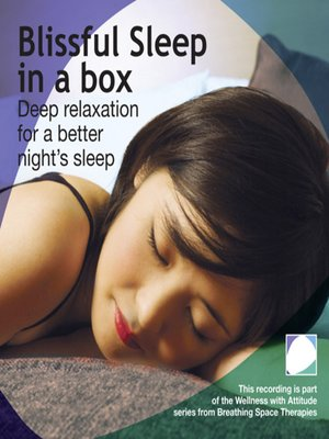 cover image of Blissful sleep in a box
