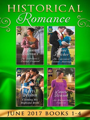 cover image of Historical Romance June 2017 Books 1--4
