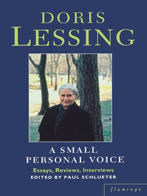 cover image of A Small Personal Voice
