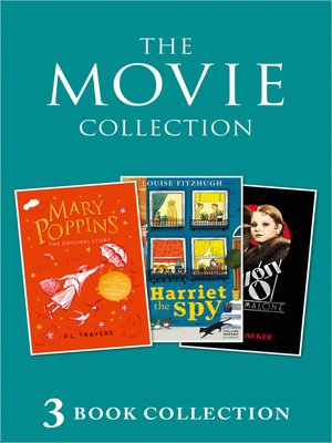 cover image of 3-book Movie Collection: Mary Poppins; Harriet the Spy; Bugsy Malone