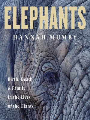 cover image of Elephants
