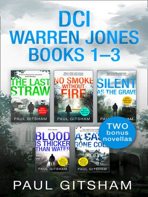 cover image of The DCI Warren Jones Series Books 1–3