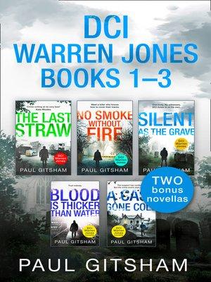 cover image of The DCI Warren Jones Series Books 1–3