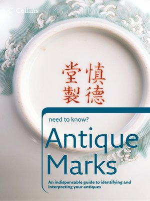 cover image of Antique Marks