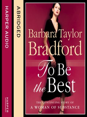 cover image of To Be the Best