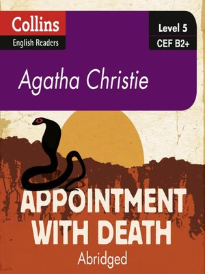 cover image of Appointment With Death - Collins ELT Readers B2