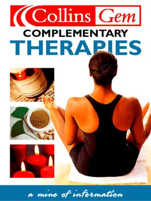 cover image of Complementary Therapies
