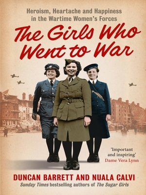 cover image of The Girls Who Went to War
