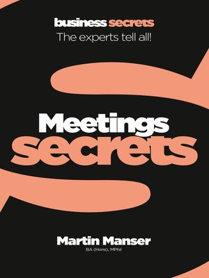 cover image of Meetings