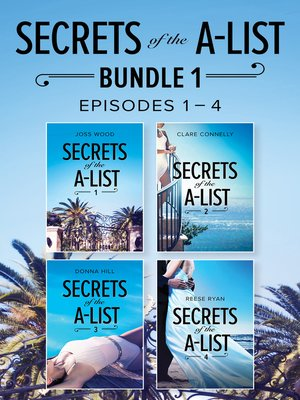 cover image of Secrets of the A-List Box Set, Volume 1