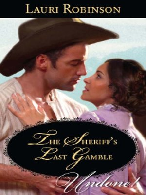 cover image of The Sheriff's Last Gamble