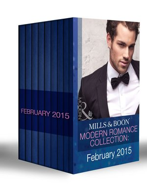 cover image of Mills & Boon Modern Romance Collection