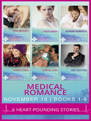 cover image of Medical Romance November 2016 Books 1-6