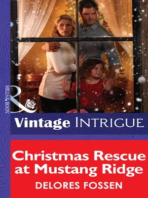 cover image of Christmas Rescue At Mustang Ridge