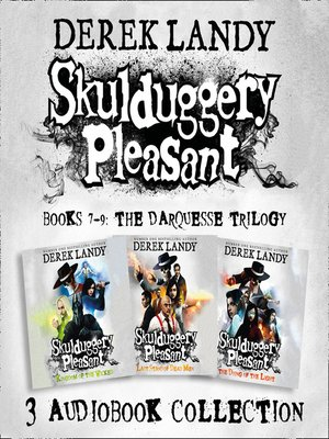 cover image of Skulduggery Pleasant, Audio Collection Books 7-9