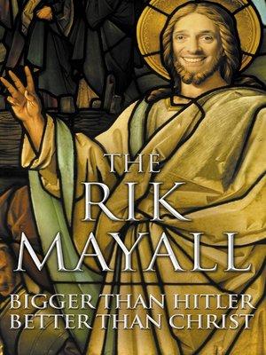 cover image of Bigger than Hitler - Better than Christ