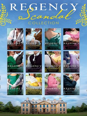 cover image of The Regency Scandal Collection