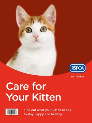 cover image of Care for Your Kitten (RSPCA Pet Guide)