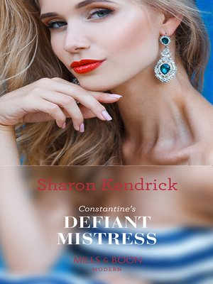cover image of Constantine's Defiant Mistress