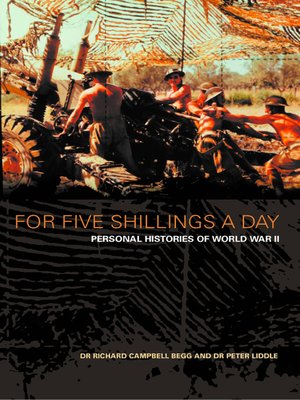 cover image of For Five Shillings a Day