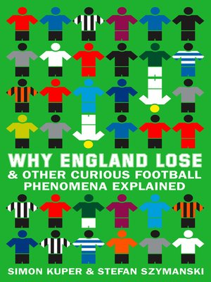 cover image of Why England Lose