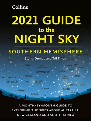 cover image of 2021 Guide to the Night Sky Southern Hemisphere