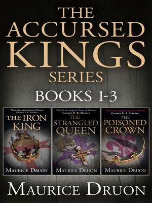 cover image of The Accursed Kings Series Books 1-3