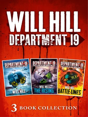 cover image of Department 19, The Rising, and Battle Lines