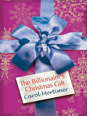 cover image of The Billionaire's Christmas Gift