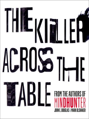 cover image of The Killer Across the Table