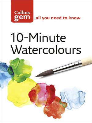 cover image of 10-Minute Watercolours