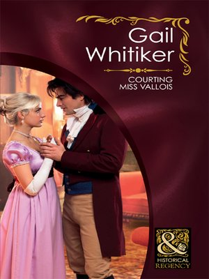 cover image of Courting Miss Vallois
