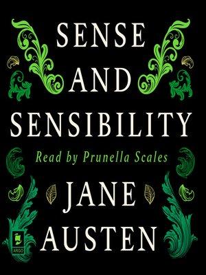 cover image of Sense and Sensibility (Argo Classics)