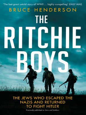 cover image of The Ritchie Boys