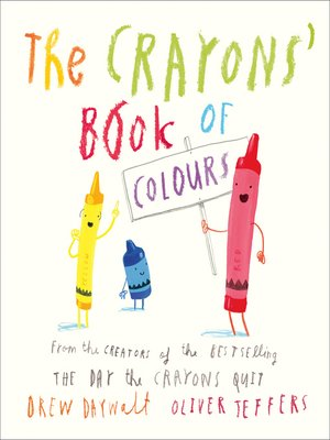 cover image of The Crayons' Book of Colours