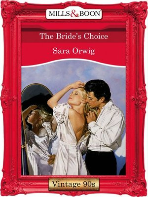 cover image of The Bride's Choice