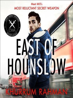 cover image of East of Hounslow (Jay Qasim, Book 1)