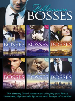 cover image of Billionaire Bosses Collection