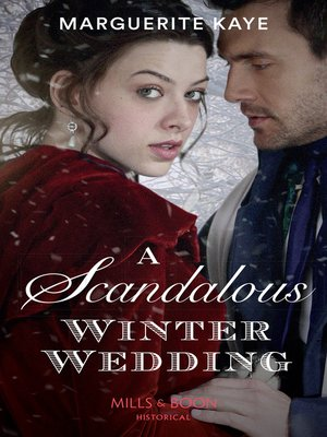 cover image of A Scandalous Winter Wedding
