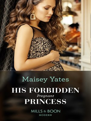 cover image of His Forbidden Pregnant Princess