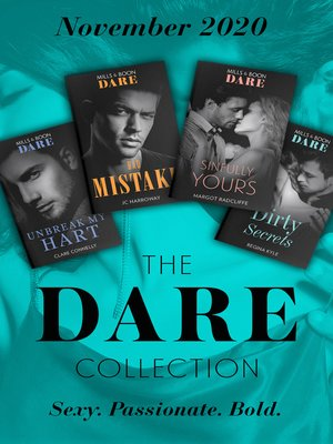 cover image of The Dare Collection November 2020