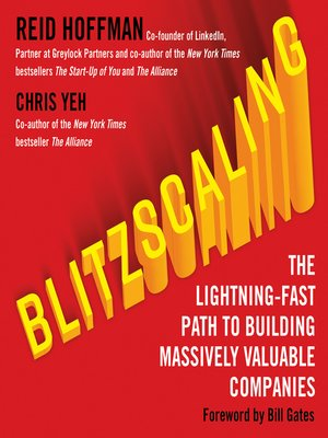cover image of Blitzscaling
