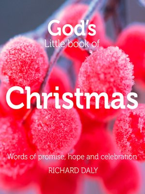 cover image of God's Little Book of Christmas
