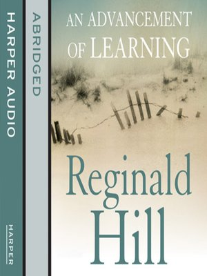 cover image of An Advancement of Learning