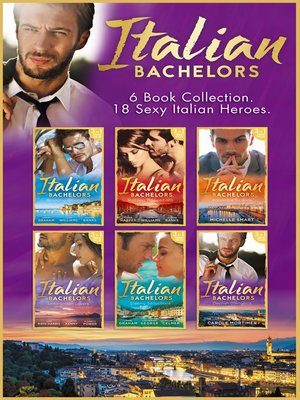 cover image of The Italian Bachelors Collection